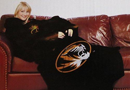 NCAA der Missouri Tigers bequemen Überwurf Decke mit Ärmeln - ärmel Werfen Decke