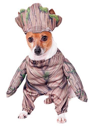 Rubie 's Marvel Walking Groot Pet Kostüm, Mittel (Groot Marvel Kostüm)