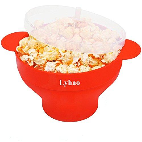 Ciotola pieghevole della cucina popper del popcorn del silicone del microonde del forno a microonde per la cucina DIY