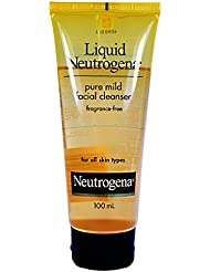 Liquid Neutrogena Pure Mild Facial Cleanser : 100Ml.
