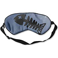 Fish Skeleton 99% Eyeshade Blinders Sleeping Eye Patch Eye Mask Blindfold For Travel Insomnia Meditation preisvergleich bei billige-tabletten.eu