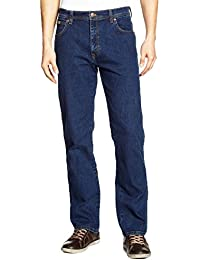 Wrangler Texas Stretch Darkstone, Jeans Homme