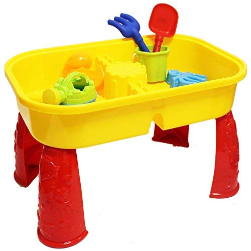 KANDY TOYS Summer Fun Sand And Water Table – Grande Divertimento sulla Spiaggia o in Giardino – TY1987