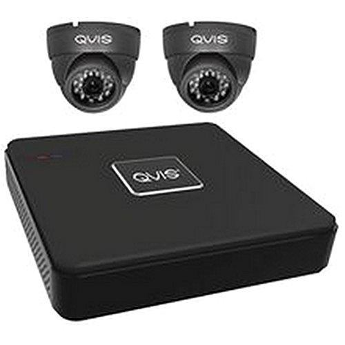 DVR Kit 4-ch 2Dome Kamera 1000TVL CCTV Systemen, DVR Kit 4-ch 2Dome Kamera 1000TVL, Plug Type: UK
