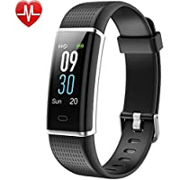 Willful Fitness Tracker,Colour Screen Activity Tracker Waterproof IP68 Pedometer Watch with Heart Rate Monitor,Calorie Counter,Sleep Monitor,Smartwatch for Women and Men Call SMS Push for Android iOS