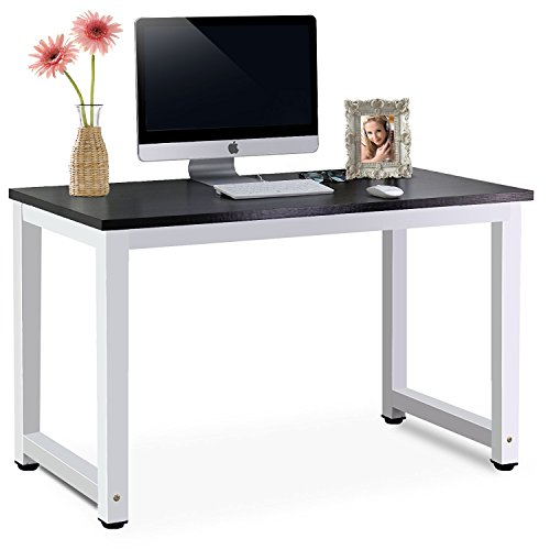 modern-simple-style-computer-pc-laptop-desk-study-steel-frame-table-workstation-for-home-office-blac
