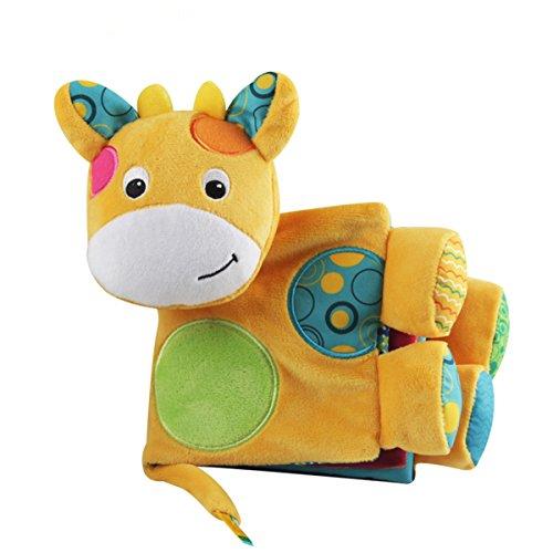 Baby Stoffbuch, TOYMYTOY Baby Spielbuch Kleinkindspielzeug Baby Pädagogisches Spielzeug