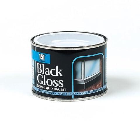 Iron Gate Black Gloss Paint - 180ml