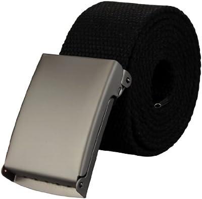 Cinturón de tela alta calidad de ancho de 4 cm con cierre desplegable en varios colores| Tamaño de la cintura: 85cm asta 125cm