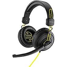 Sharkoon SHARK ZONE H10 Binaurale Diadema Negro auricular con micrófono - Auriculares con micrófono (PC/Juegos, Binaurale, Diadema, Negro, Alámbrico, 2,5 m)