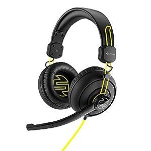 Sharkoon Shark Zone H10 Gaming Stereo PC-Headset mit 40mm Lautsprecher, schwarz