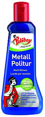 Poliboy Special Pulidor de metales, botella de 200ml