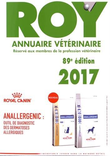Annuaire vétérinaire Roy par From Editions du Point Vétérinaire