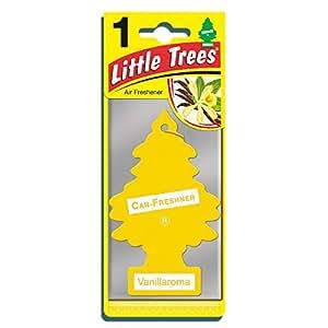 Little Trees MTR0001 Air Freshener, Vanillaroma Fragrance