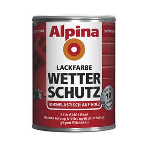 Alpina Wetterschutz Lackfarbe