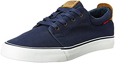 Levi's Men's Justin Dark Blue Sneakers - 6 UK/India (39 EU)