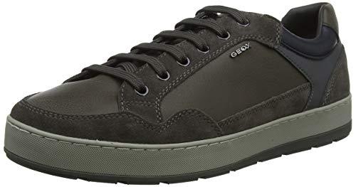 Geox U ARIAM B, Zapatillas para Hombre, Marrón Mud C6372, 42 EU