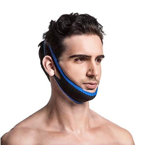 Correa antironquidos para mandíbula – ¡Calificado como el dispositivo nº1 en el Mercado!