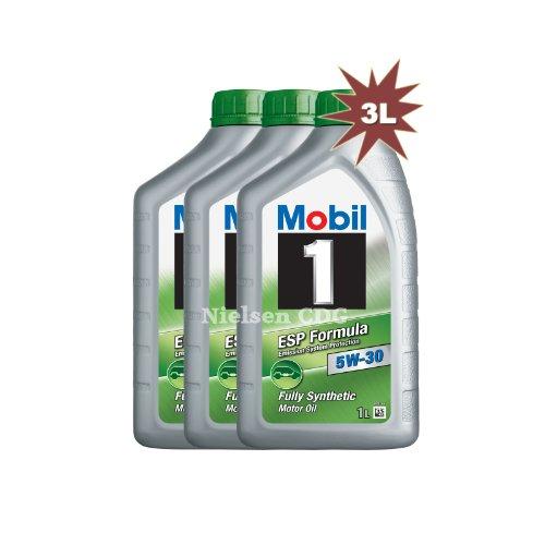 Mobil 1 ESP 5W-30 olio motore completamente sintetico 154282 3 x 1L = 3L