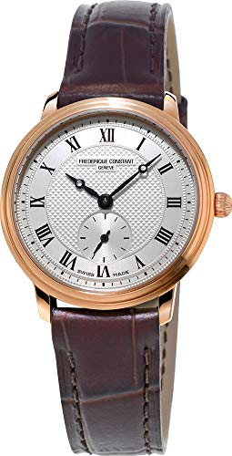 Frederique Constant Geneve Slimline Ladies and Gents Small Second FC-235M1S4 Orologio da polso donna