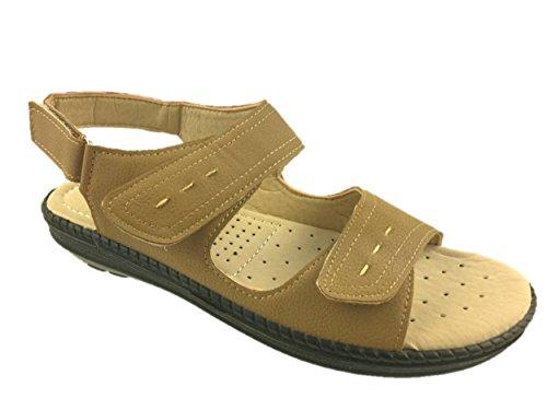 Steptoes, Sandali donna, beige (Beige), 39,5 EU