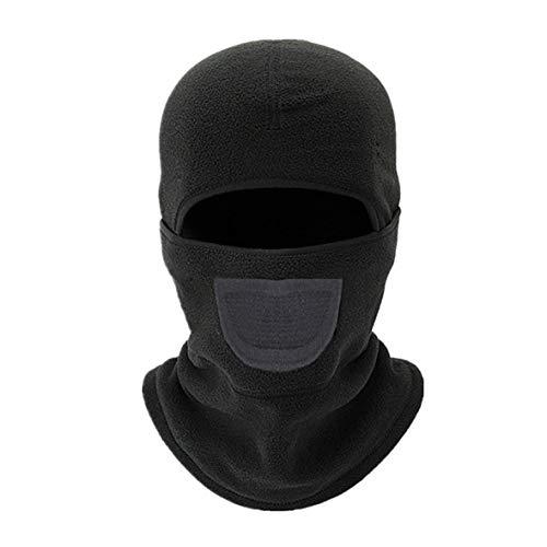 Monllack Winddichte Outdoor Reitmaske Thermovlies Winter Warm Radfahren Maske Nackenwärmer Reversible Stirnband Ski Gesichtsmaske - Reversible Stirnband