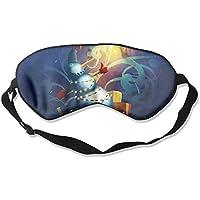 Eye Mask Eyeshade Light Snowman Art Sleeping Mask Blindfold Eyepatch Adjustable Head Strap preisvergleich bei billige-tabletten.eu