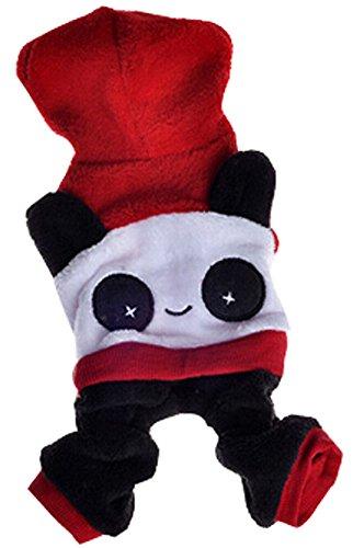 tements gießen animaux de style chinois Panda Vêtements d'hal (Kostüm D'animal)