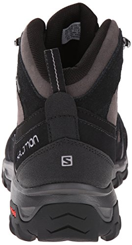 Salomon Evasion Mid Gtx Herren Trekking- & Wanderstiefel Schwarz (Black/Autobahn/Pewter)
