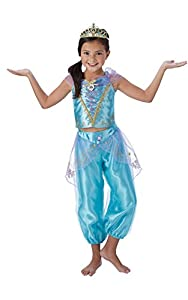 Rubies Disfraz de lujo de Jasmín (Aladdín) princesas Disney