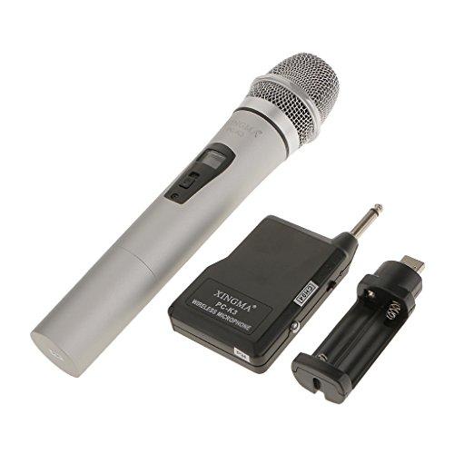 Almencla Pc K3 Professionellen FM Funktechnik Mikrofon Mic Mike Mit Empfänger