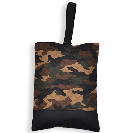 Shoes case put slippers, slipper bag quilting type camouflage moss green made in Japan (japan import)