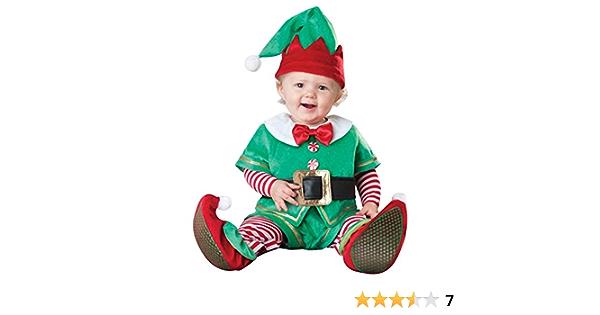 LvRaoo Unisex Baby Strampler Weihnachtself Jungen M/ädchen Overalls Cosplay Halloween Weihnachten Kost/üm