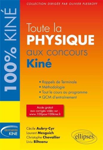 Toute la Physique aux Concours Kiné