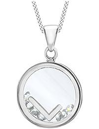 Tuscany Silver Collar con colgante de mujer con plata de ley (925/1000)