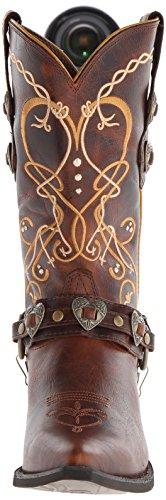 Dusk RD4155 Boots Heartbreaker Braun Cowboystiefel Westernstiefel Damen M Durango to Dawn Braun Damenstiefel wBITxTd