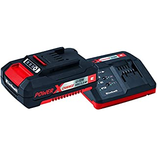 Einhell 18 V Power-X-Change Battery and Charger Starter Kit with 1 x 1.5 Ah Li-Ion