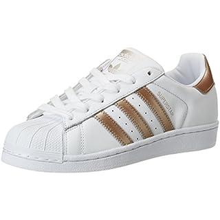 adidas Damen Superstar Fitnessschuhe Weiß (Ftwbla/Ciberm 000) 39 1/3 EU