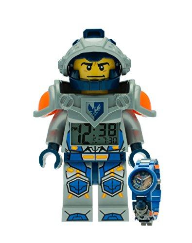 LEGO Nexo Knights Clay Wecker und Armbanduhr Bundel