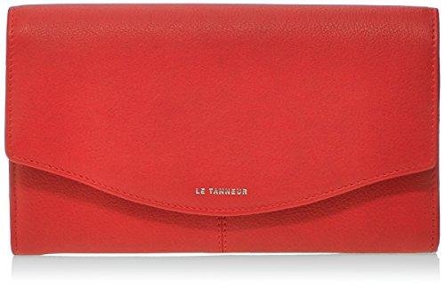 Il Tanneur Valentine Ttv3601 - Portamonete, rosso (rosso), Taglia unica