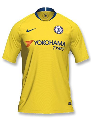 Nike - Chelsea 2ª Camiseta 18/19 Color: Amarillo Talla: XL