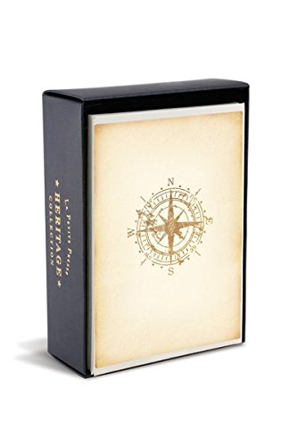 Boxed Notes: Compass Heritage - Gruß- und Geschenkkartenbox mit Kuverts: Kompass