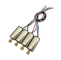 Fytoo Parts 4PCS Motors for SYMA X5S X5SC X5SW X5HC X5HW X5UC X5UW RC Quadcopter Drone Motor Accessories