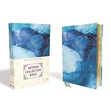 NRSV, Artisan Collection Bible, Cloth over Board, Blue, Art Gilded Edges, Comfort Print