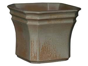 Pflanzkasten Neapel 26x26x20 cm antik aus frostbeständiger Steinzeug - Keramik