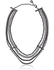 Pilgrim Damen-Collier Stillness Messing Glas schwarz Rundschliff 0.4 cm - 22153_0.4