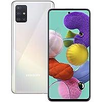Samsung Galaxy A51 Mobile Phone; Sim Free Smartphone - Prism Crush White (UK Version)