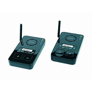 m-e modern-electronics FS 2.1 Gegensprechanlage Funk 446MHz 2000m Schwarz