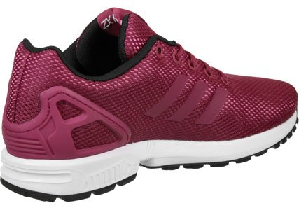 adidas Zx Flux, Baskets Basses Homme rose blanc