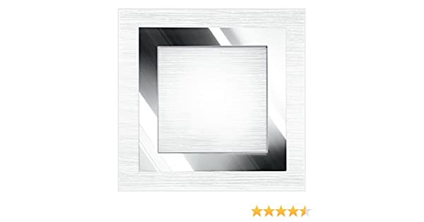 Plafoniera Quadrata E27 : Fan europe plafoniera oak cromo metallo satinato quadrata e